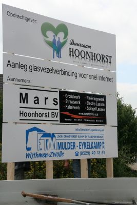 Project Snel Internet in Hoonhorst
