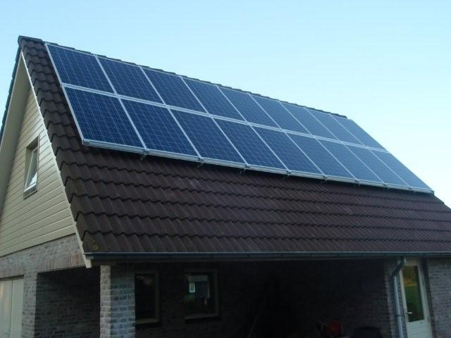Zonnepanelen in Hoonhorst